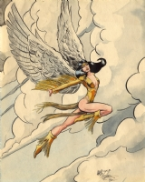Dawnstar by Art Adams & Art Nichols Comic Art